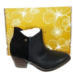 Yellow Box ankle Boots